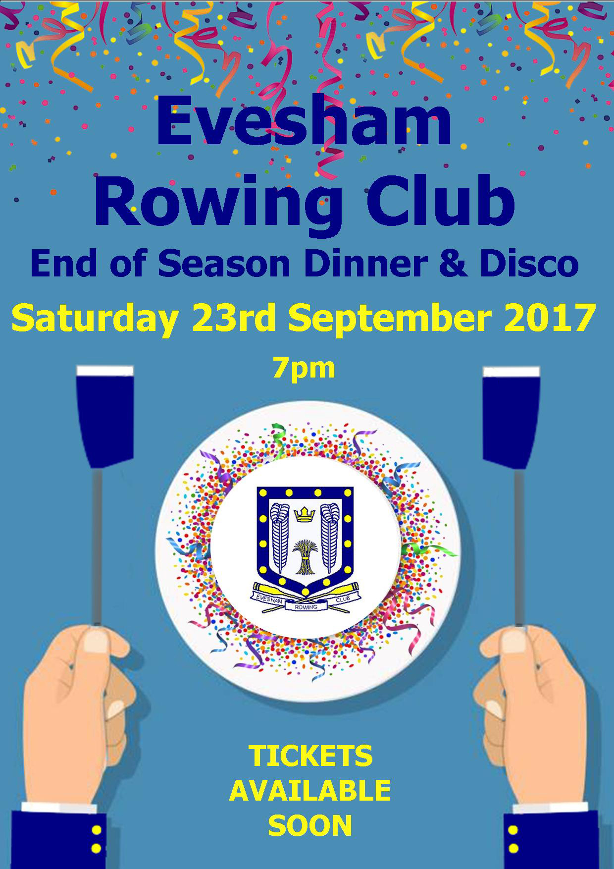 End of Season Dinner 2017